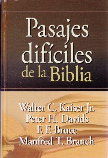 Pasajes Difíciles de la Biblia (pasta dura)