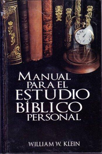 Manual para el Estudio Bíblico Personal  (pasta dura)