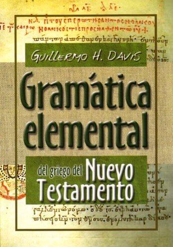 Gramática Elemental del Griego del Nuevo Testamento