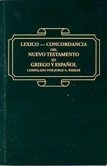 Léxico-Concordancia del NT en Griego y Español