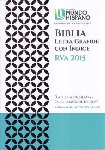 Santa Biblia RVA 2015 Acualizada - Letra Grande