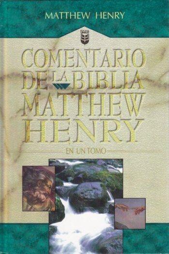 Comentario de la Biblia - Matthew Henry (tapa dura)