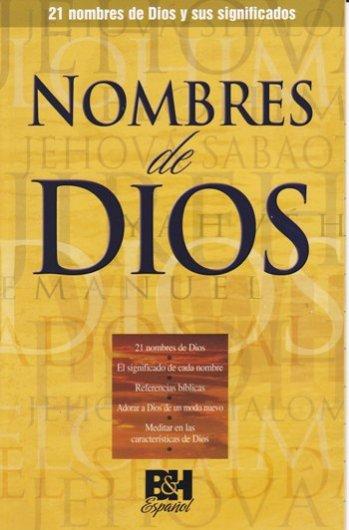 Nombres de Dios (B & H Pamphlet)