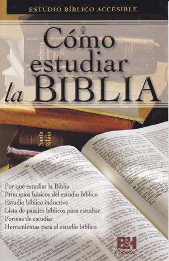 Cómo Estudiar la Biblia (panfleta de B&H)