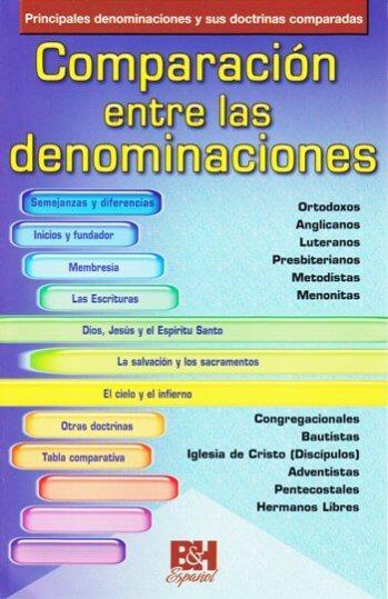 Comparación entre las Denominaciones
