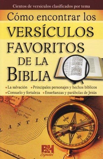 Cómo Encontrar Versiculos Favoritos de la Biblia