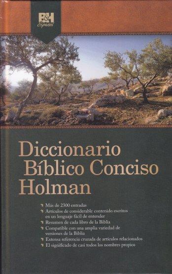Diccionario Bíblico Conciso Holman (pasta dura)