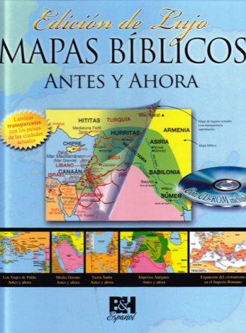 Mapas Bíblicos: Antes y Ahora (libro con el CD)
