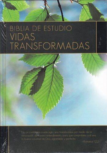 Biblia de Estudio - Vidas Transformadas (tapa dura)