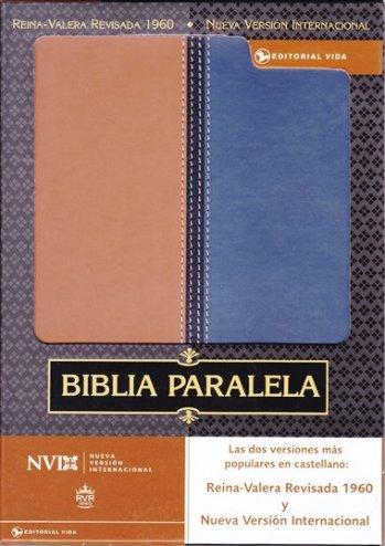 Biblia Paralela RVR60 / NVI (piel imitación dos tonos)
