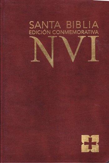 Biblia NVI - Edición Conmemorativa - color cafe