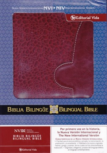 Biblia Bilingue NVI / NIV (color vino