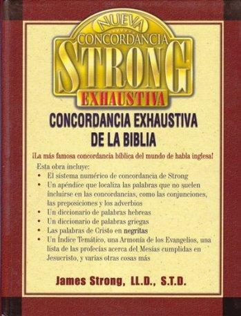 Nueva Concordancia Exhaustiva de Strong (tapa dura)