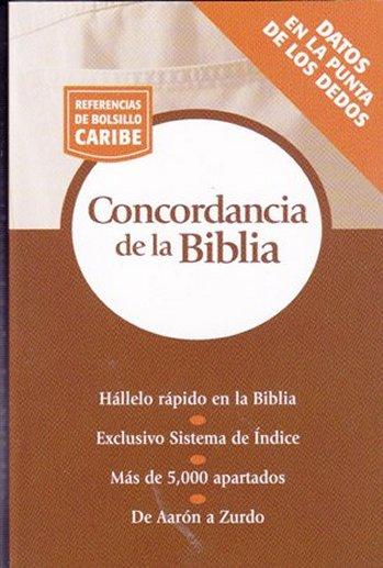 Concordancia de la Biblia (Referencias de Bolsillo)