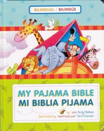 Mi Biblia Pijama Bilingue (pasta dura)