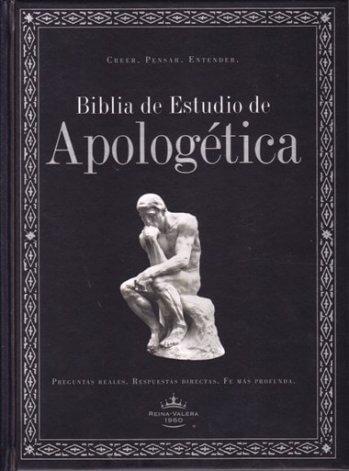 Biblia de Estudio de Apologética (tapa dura con índice) RVR60