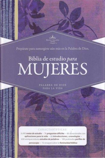 Biblia de Estudio para Mujeres - RVR60 (tapa dura)