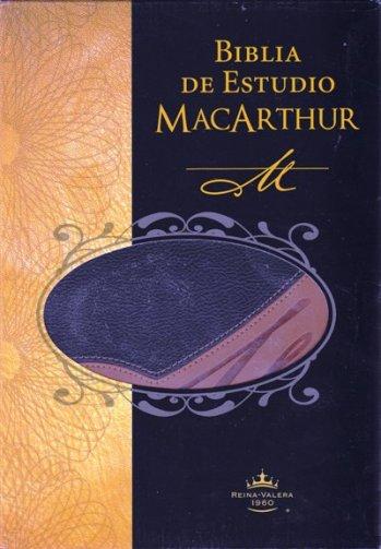 Biblia de Estudio MacArthur (piel)