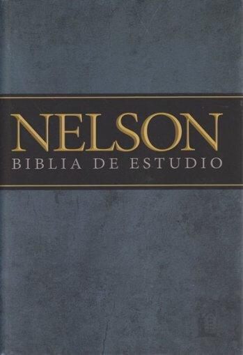 Biblia de Estudio - Nelson (tapa dura)