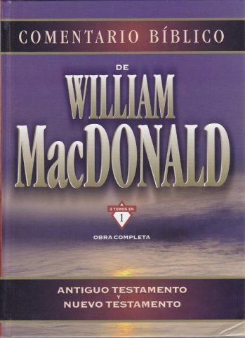 Comentario Bíblico de William MacDonald (tapa dura)