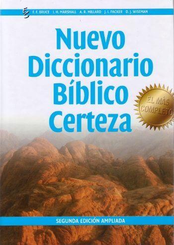 Nuevo Diccionario Biblico Certeza (pasta dura)