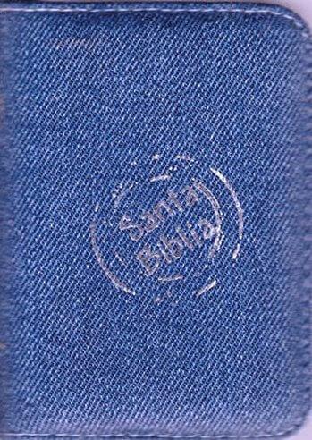 Biblia RVR60 Bolsillo Jean con cierre