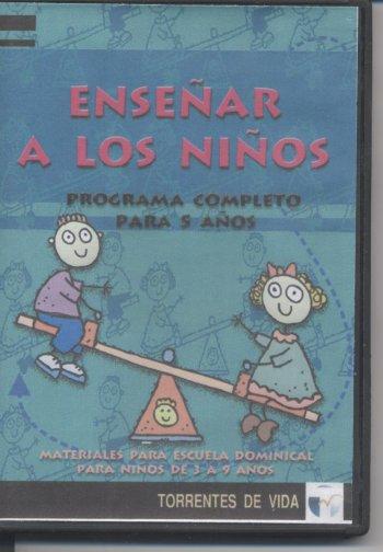 Enseñar a los Niños (CD)  Materiales Para Escuela Dominical por un Año (para niños de 3 a 9 años)