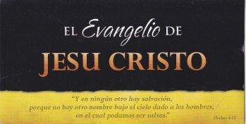 Evangelio de Jesucristo - folleto (juego de 20)