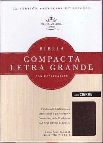 Biblia RVR 1960 Compacta