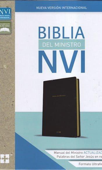Biblia del Ministro NVI -  incluye ceremonias de Matrimonio