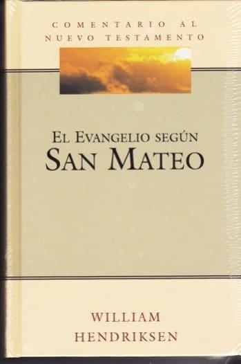 Comentario al NT - El Evangelio Según San Mateo (pasta flexible)