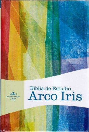 Biblia de Estudio RVR 1960 Arco Iris (tapa dura)
