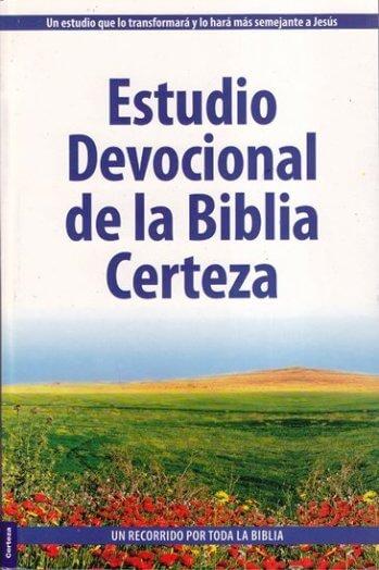 Estudio Devocional de la Biblia Certeza - versión condensada