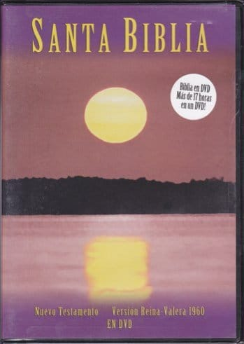 Biblia RVR60 en DVD (Nuevo Testamento) RVR60..
