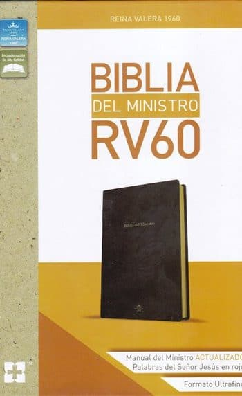 Biblia del Ministro RVR60 -  incluye ceremonias de Matrimonio