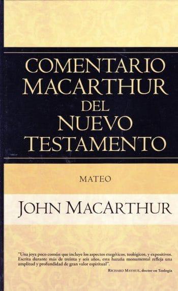 Comentario MacArthur del NT: Mateo (pasta dura)