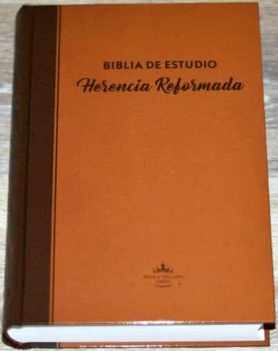 Biblia de Estudio - Herencia Reformada (RVR 60 - pasta dura)