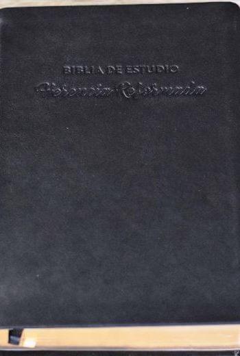 Biblia de Estudio - Herencia Reformada (RVR 60 - piel negra)