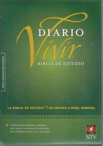 Biblia de Estudio Diario Vivir - NTV (tapa dura)