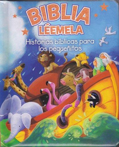 Biblia Léemela - historias bíblicas para los pequeñitos (página y tapa dura)