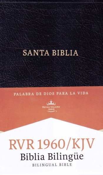 Biblia Bilingüe RVR60-KJV (Negro