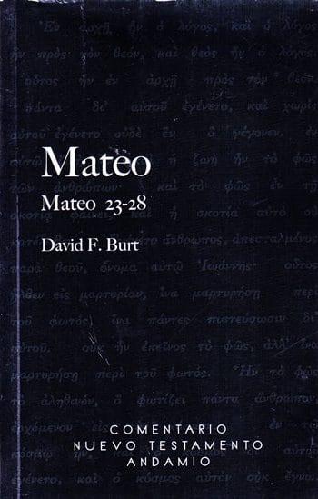 Mateo - Comentario Nuevo Testamento Andamio