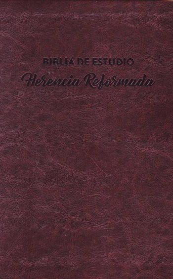Biblia de Estudio - Herencia Reformada (RVR 60 - semi piel