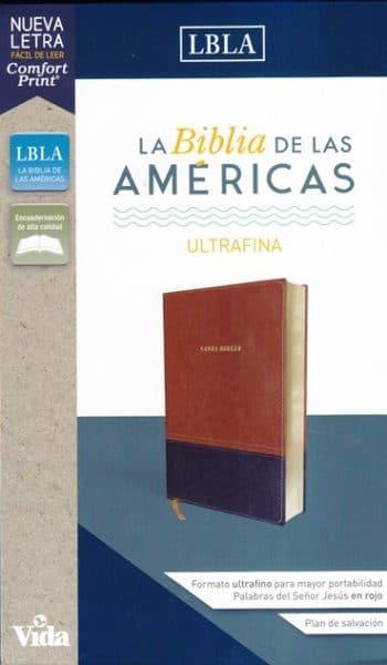Biblia LBLA - Ultrafina