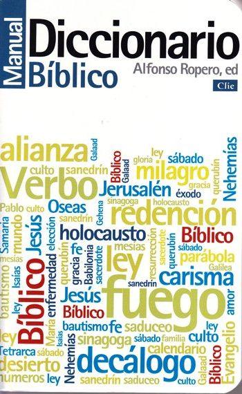 Diccionario Manual Bíblico - Ropero (pasta vinílica)