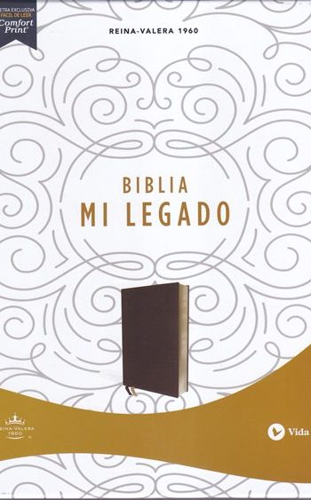 Biblia  RVR60 Mi Legado - semi-cuero